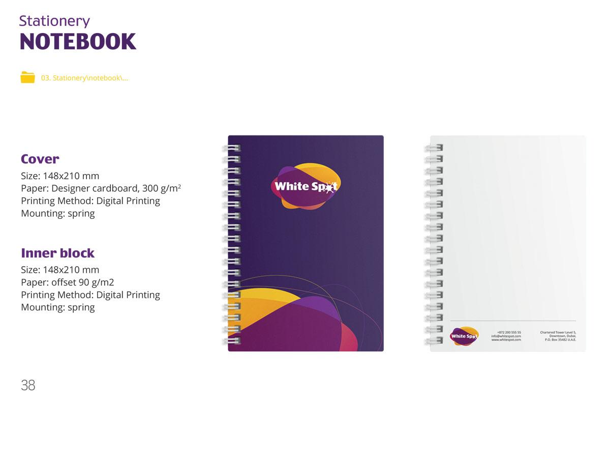 Brandbook design Dubai