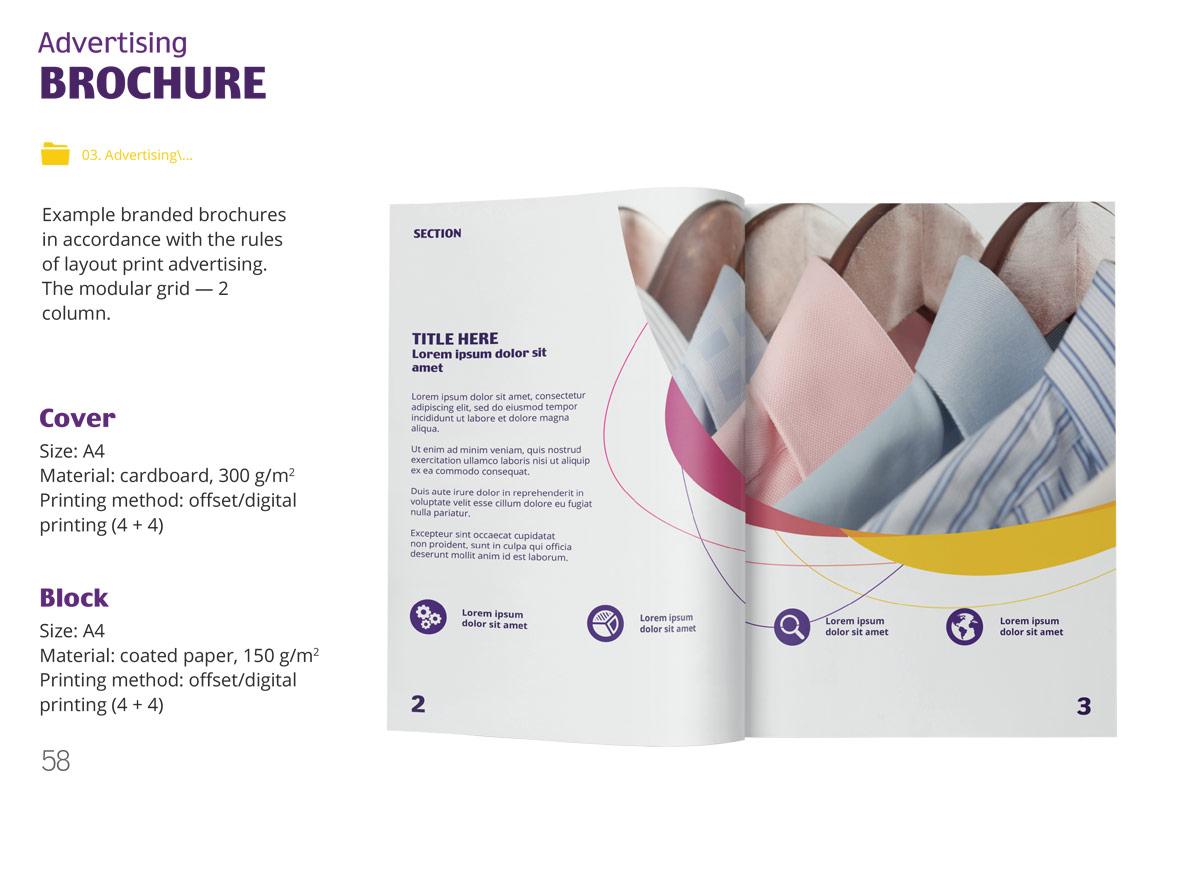 Brandbook design service in Dubai