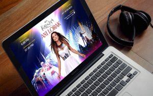 Промо-сайт концерта Ани Лорак - Студия Дизайна Тесселла