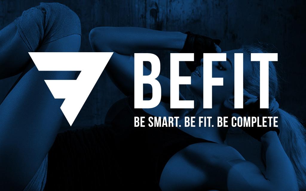 BeFit Sports Club Official Website - Tessella Design Studio