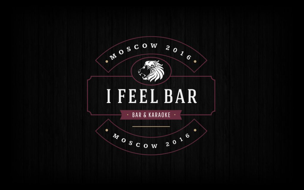 I Feel Bar Logo - Tessella Design Studio, Graphic Design