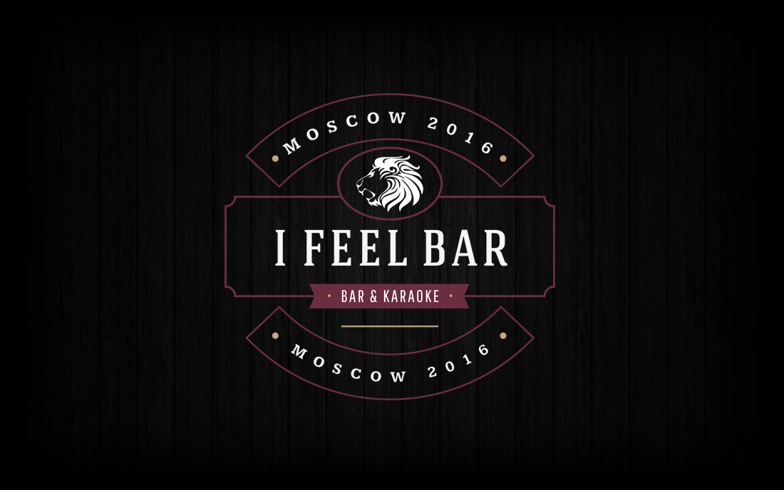 I Feel Bar Logo - Tessella Design Studio
