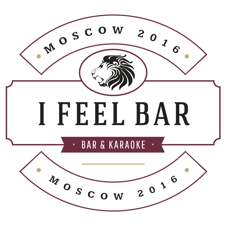 I Feel Bar Logo design in Moscow