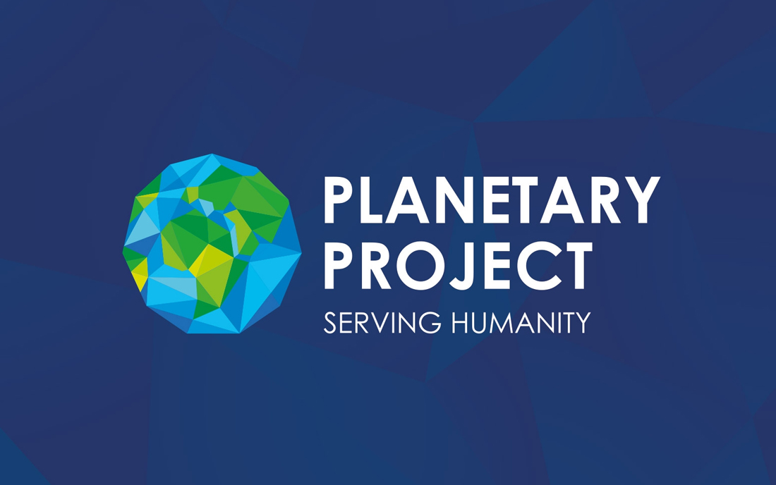 Planetary Project Logo design in Dubai
