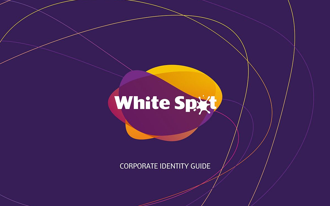 White Spot Laundry Corporate Identity - Tessella Design Studio