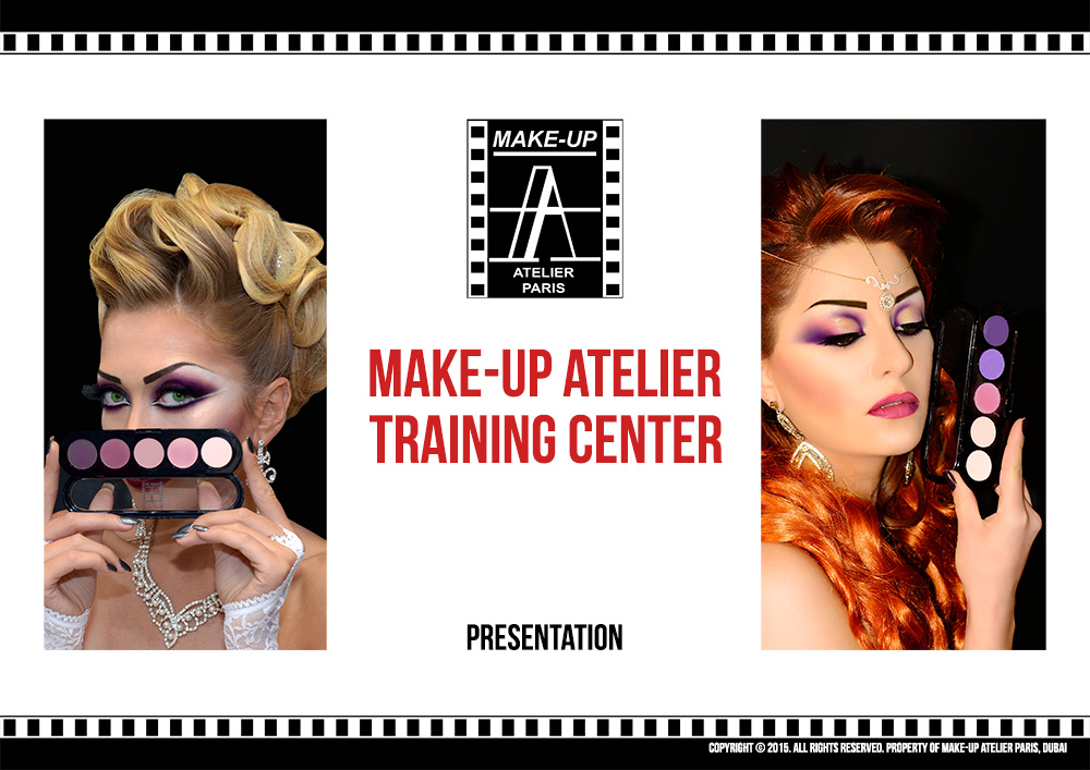 Make-Up Atelier Corporate Brochure Design