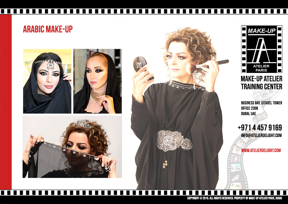 Make-Up Atelier Corporate Brochure Design in Dubai