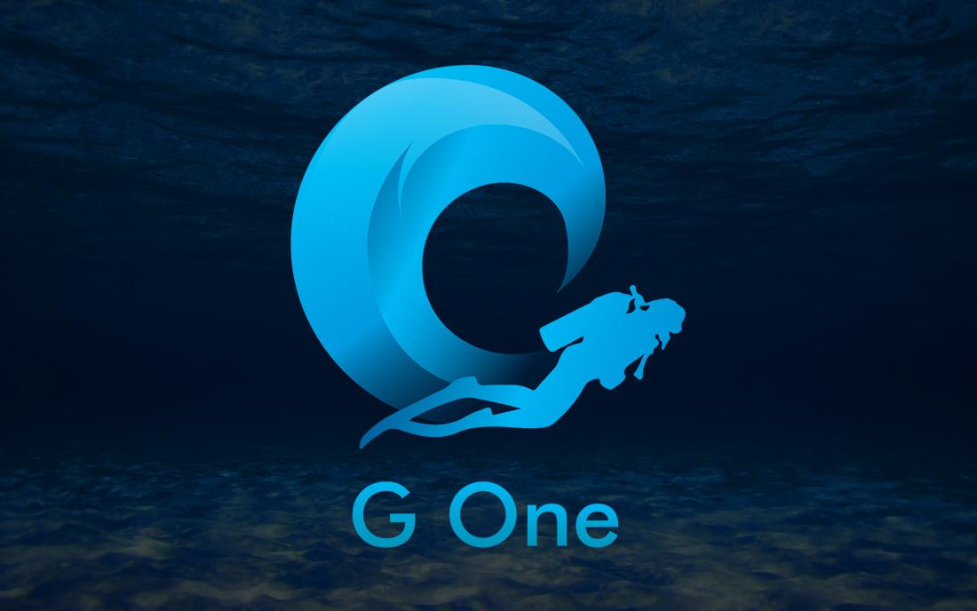 Лого для G One - Студия Дизайна Тесселла
