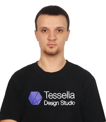 Виктор Самойленко - Разработчик пользовательского интерфейса в Студия Дизайна Тесселла