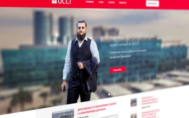 Сайт для UCCI Group - Студия Дизайна Тесселла, Веб-дизайн