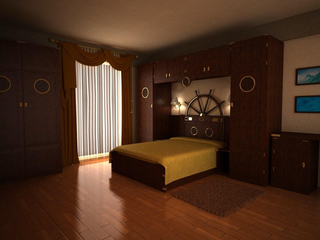 3D Design Bedroom