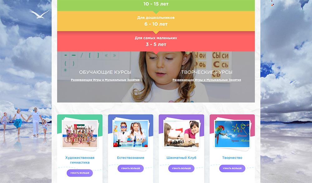 Aist website screenshot 1