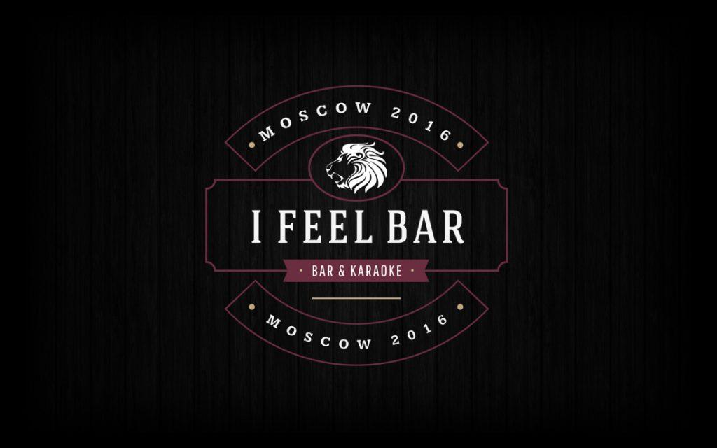 I Feel Bar Logo - Tessella Design Studio, Graphic Design