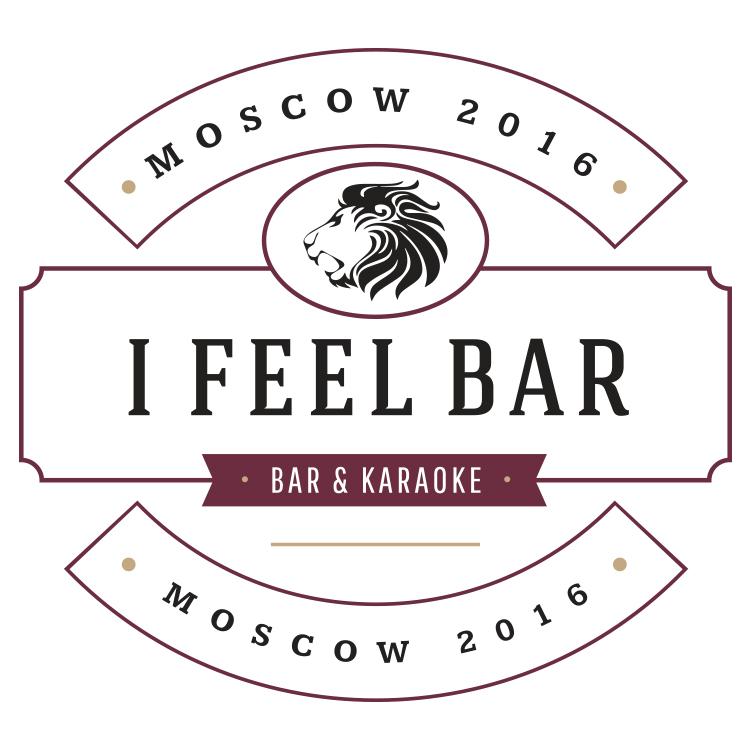 I Feel Bar Logo design in Moscow