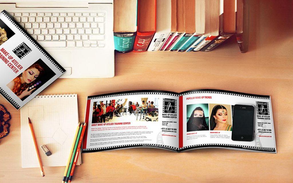 Make-Up Atelier Brochure - Tessella Design Studio, Graphic Design